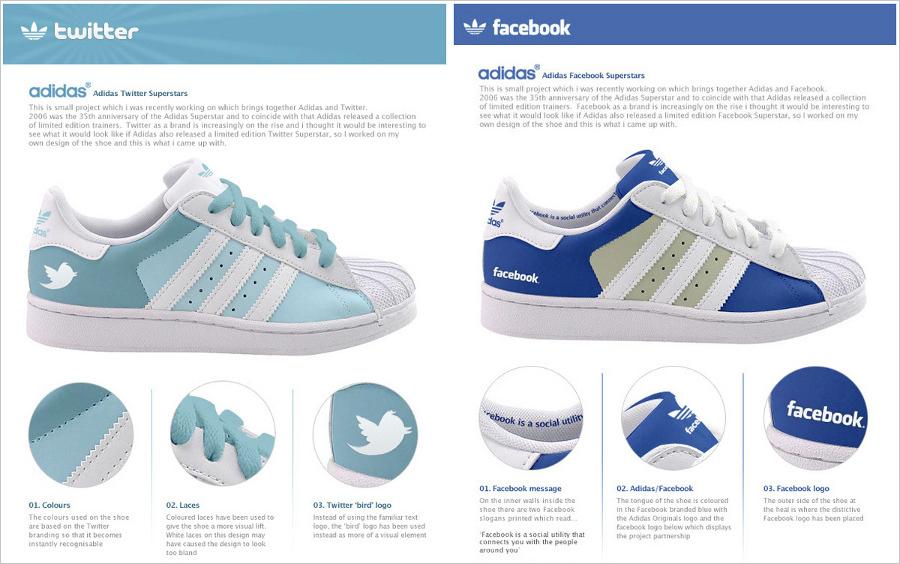 7cc1a865e372cd Dorky Fashion Social Network Sneakers by Adidas