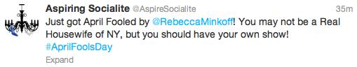 Rebecca-Minkoff-April-Fools-Day-Tweet