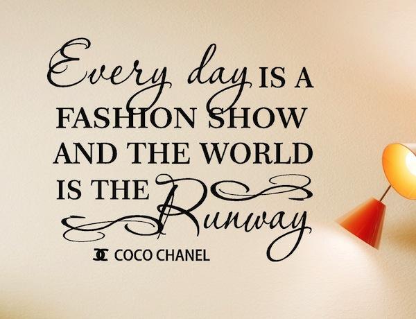 Coco Chanel fashion quote