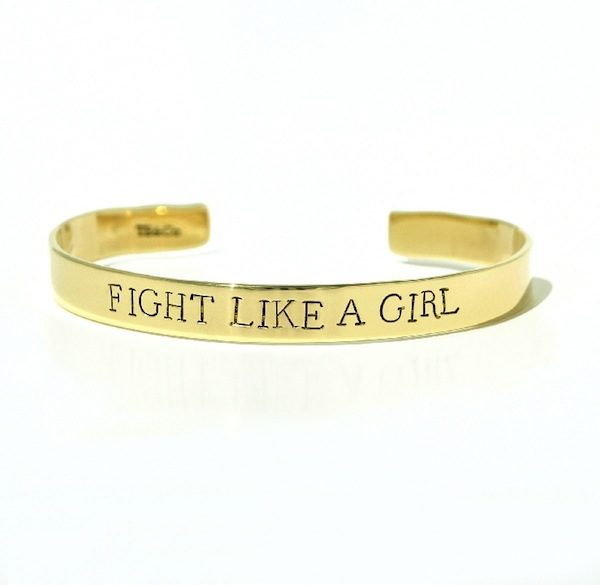 Fight Like a Girl Cuff