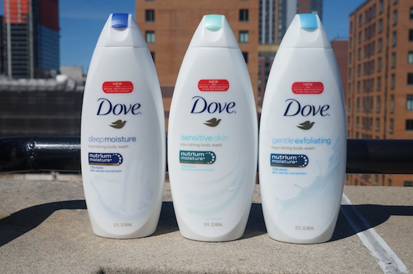 New Dove Body Wash One Shower Challenge