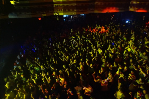 Webster Hall Crowds