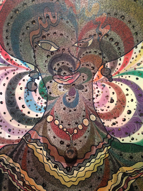 Chris Ofili Painting