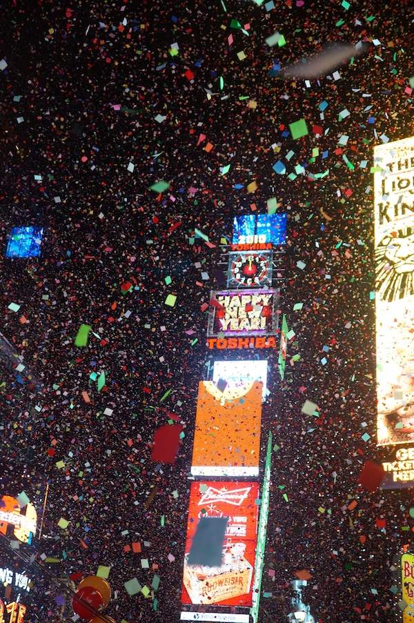 New Year's Times Square