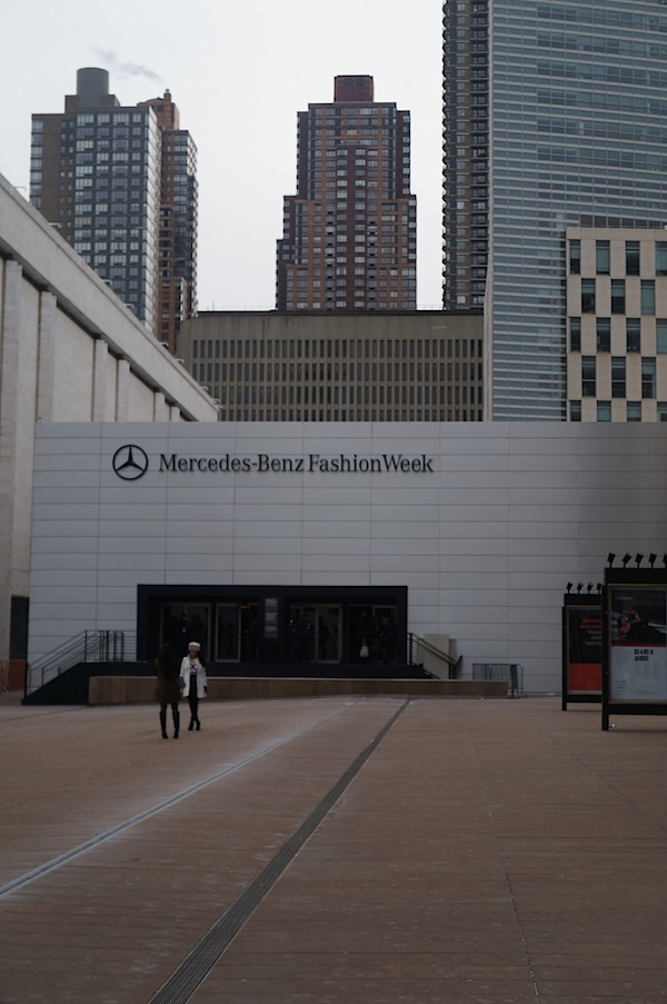 Lincoln Center New York Fashion Week