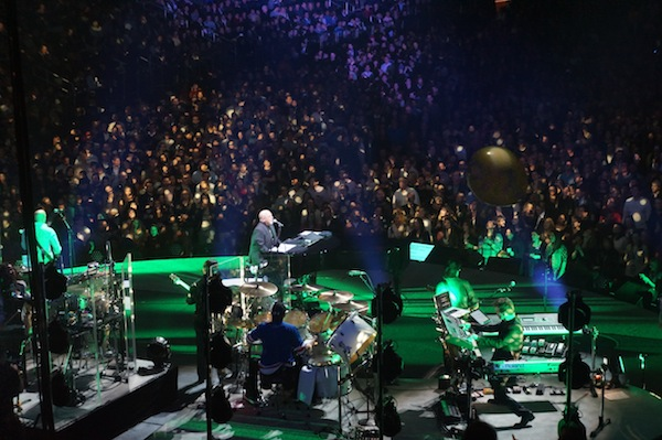 Billy Joel at Madison Square Garden Aspiring Socialite