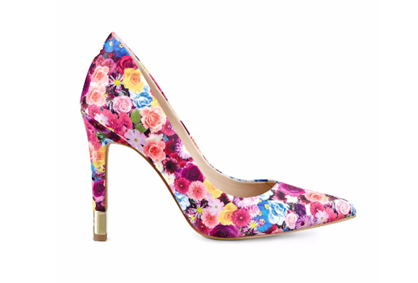 Floral Pumps Spring Shoes