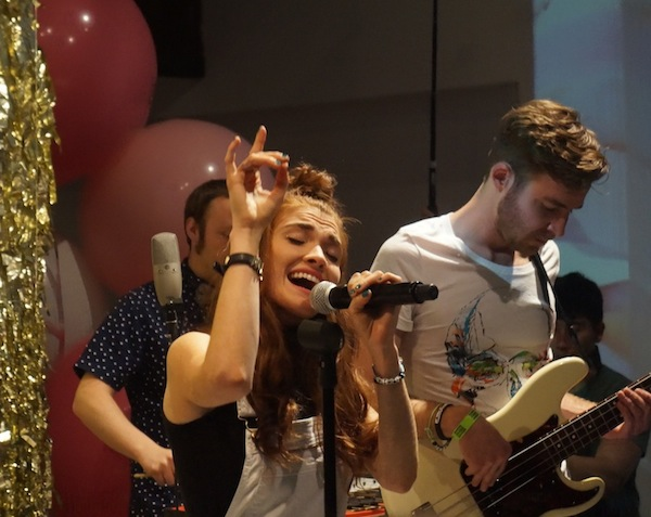 Kipling's Make Happy Launch with MisterWives