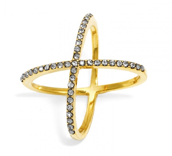 Crystal Mason Ring BaubleBar