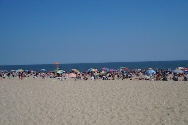 Summer Rockaway Beach