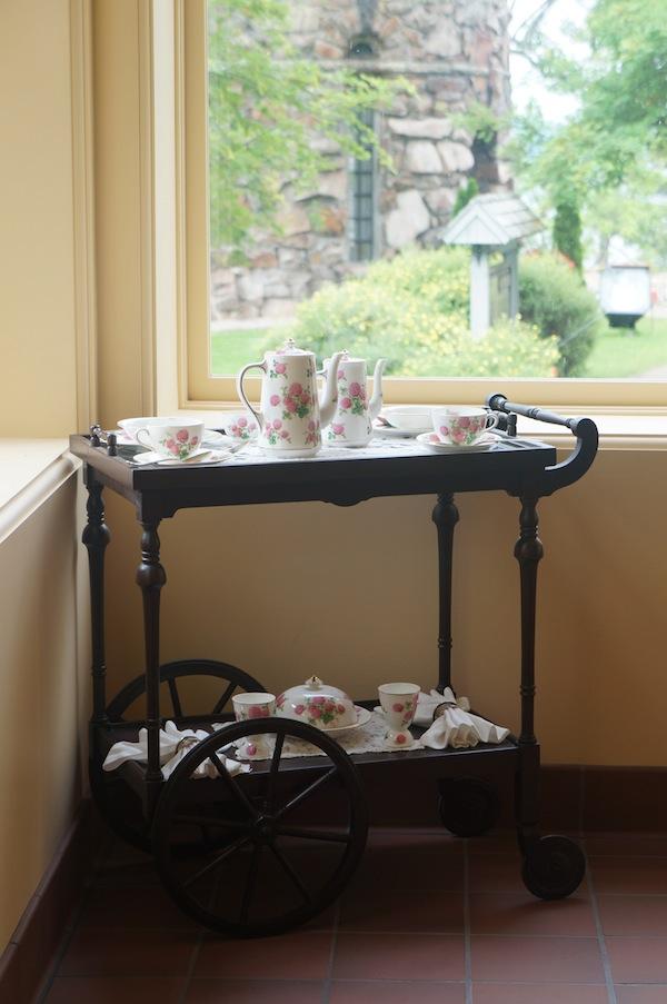 tea time Boldt Castle