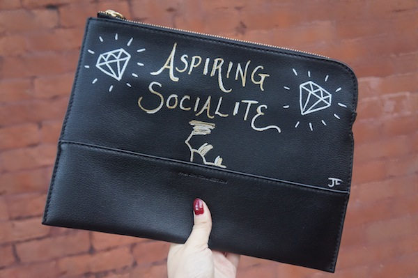 Aspiring Socialite French Connection Clutch
