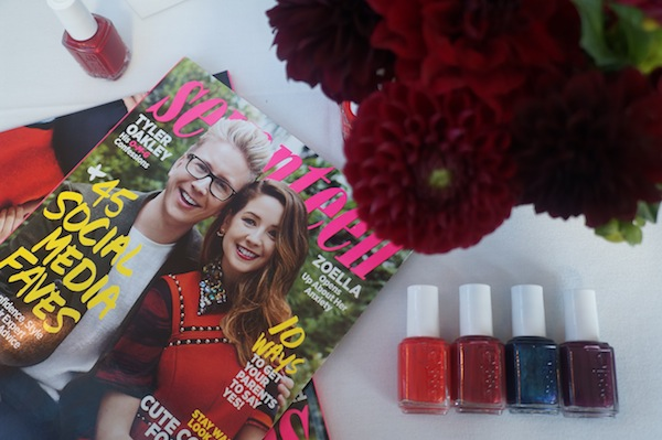 Essie Nail Polish Fall Colors Seventeen Magazine