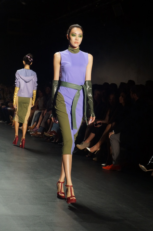New York Fashion Week Models Runway