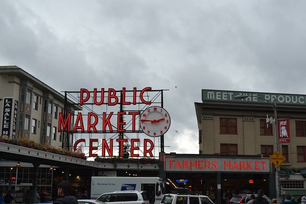Pike Place Market Seattle Waterfront