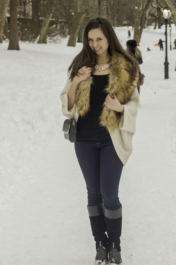 Winter Style Fashion Blogger Bebe
