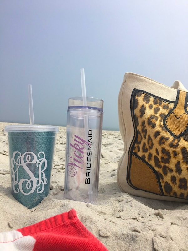 Bachelorette Party Gifts Etsy Bridesmaid Tumbler