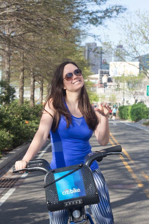 Ivy Park Aspiring Socialite Fitness Gear Citi Bike