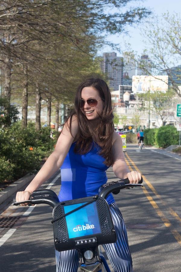 Ivy Park Fitness Line Beyonce Citi Bike