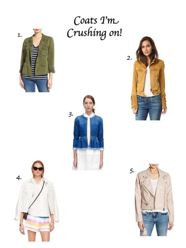 Coats Blazers Jackets Aspiring Socialite Lyst Shopbop