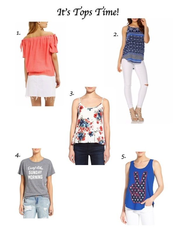 Lyst Shopping Tops