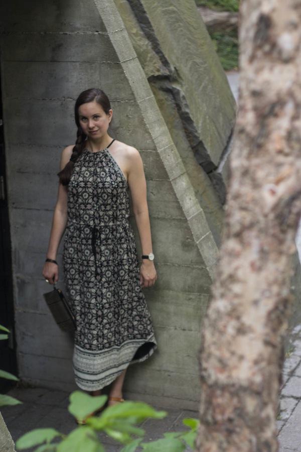 Battery Park Lucky Brand Midi Dress Boho Chic