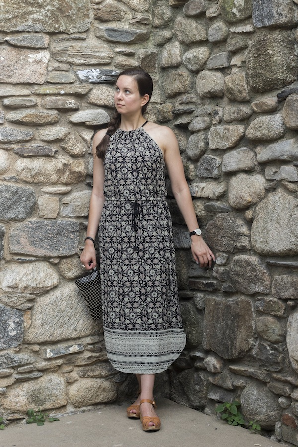 Irish Hunger Memorial Lucky Brand Midi Dress