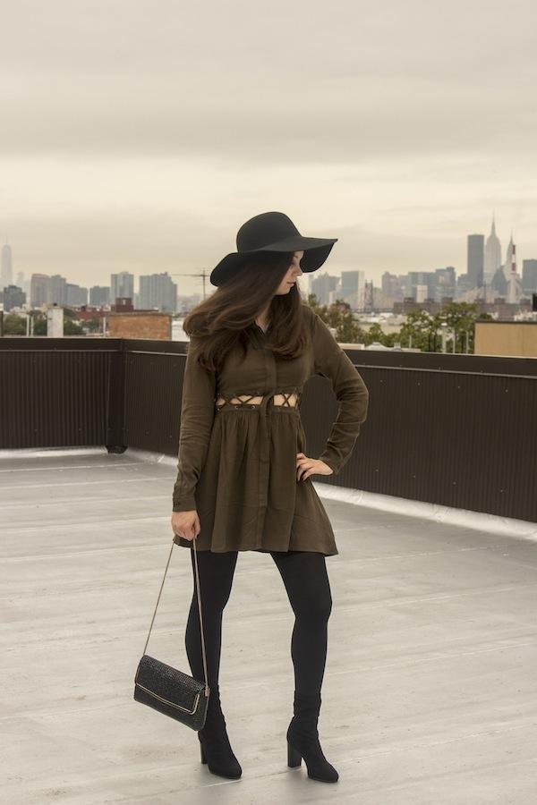 tobi-dress-wool-felt-floppy-hat-astoria-new-york-queens