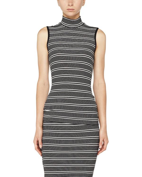 mock-neck-stripe-dress