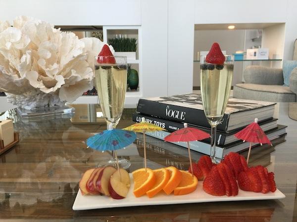 Burke Williams Champagne Spa Day Aspiring Socialite