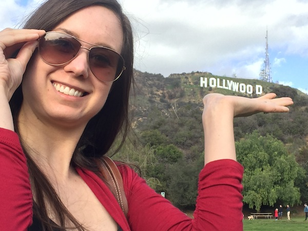 Hollywood Sign Aspiring Socialite