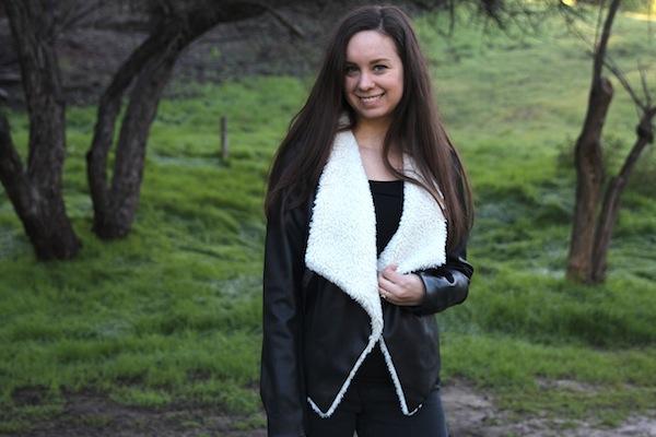BB Dakota Shearling Jacket Aspiring Socialite