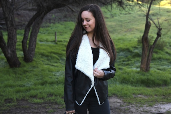 Bb Dakota Bourne Faux Shearling Jacket