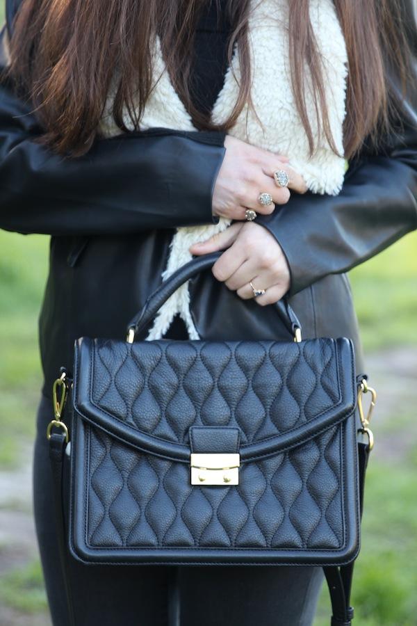 Vera Bradley Lydia Satchel Handbag