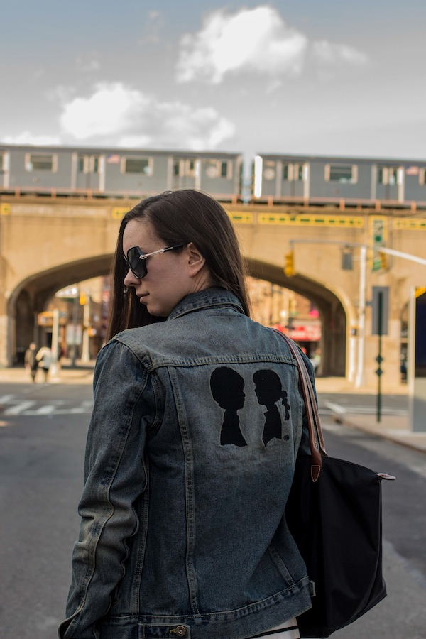 Boy Meets Girl Over-sized Denim Jacket