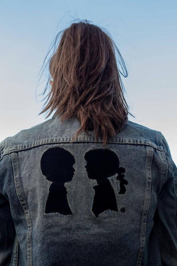 Over-sized Denim Jacket Boy Meets Girl