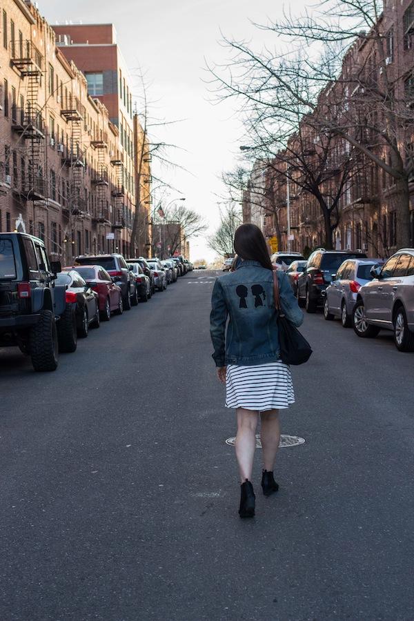 Sunnyside Queens Boy Meets Girl Denim Jacket