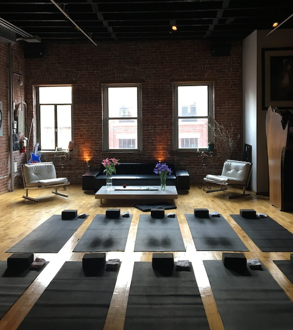 yoga studios in New York City