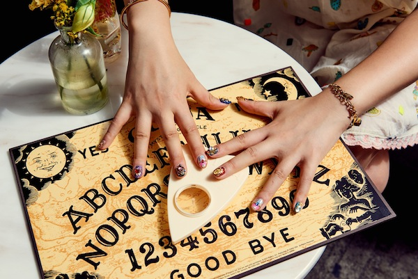 ouija board Sleepover Staycation