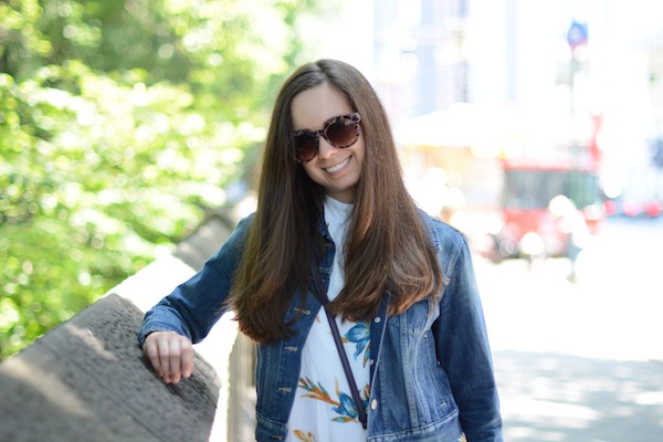 Betsey Johnson Sunglasses Levi's Jean Jacket