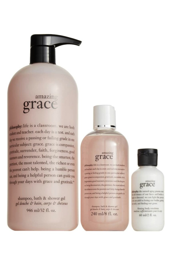 Philosophy Amazing Grace Trio