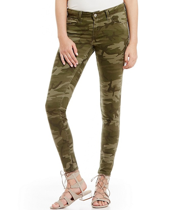 Levi´s 535 Camo Super Skinny Jeans