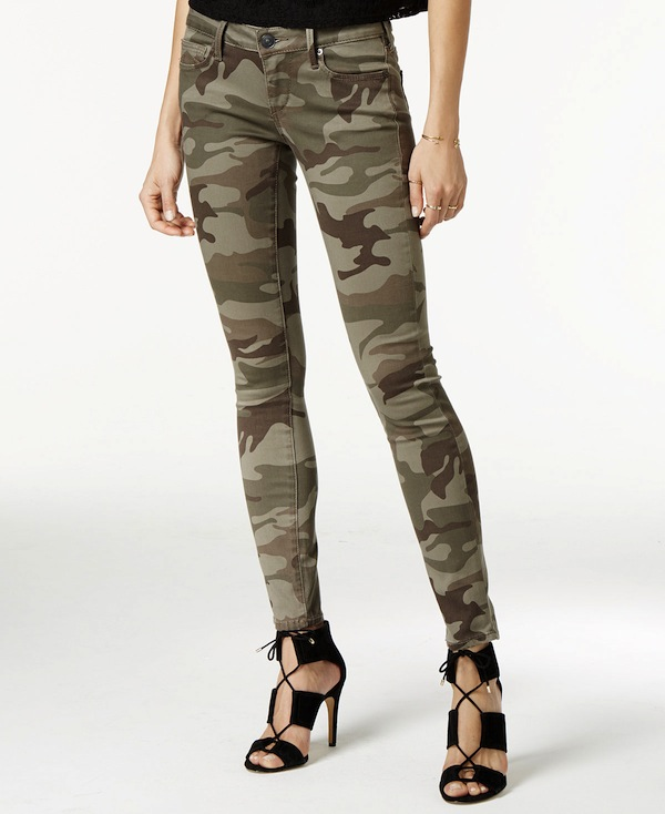 True Religion Camo Skinny Jeans
