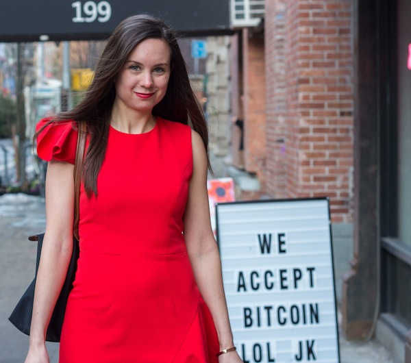 Bitcoin Soho Rent the Runway Red Dress