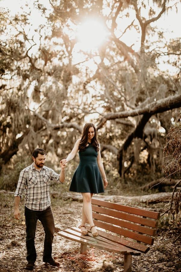 Aspiring Socialite Engagement Photos Emily Prada