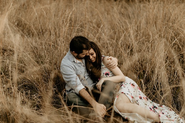 Boho Engagement Photos