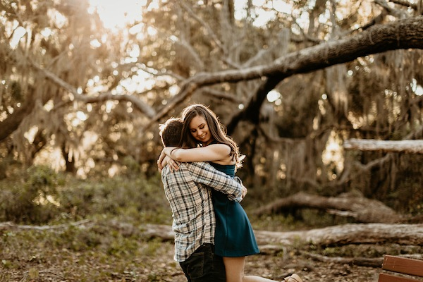 Lake Runnymede Orlando Engagement Photos